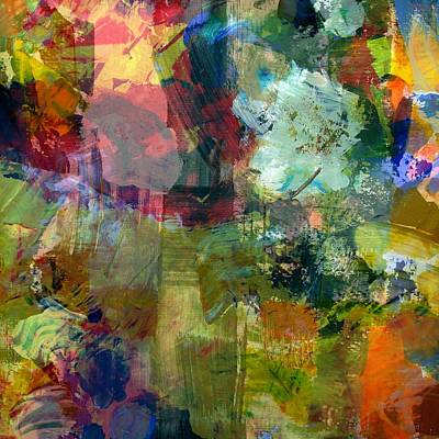 Painting - Transparent Layers Two by Michelle Calkins