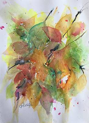 Painting - Transparent Leaves by Bette Orr