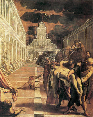Photograph - Transport Of The Body Of Saint Mark by Tintoretto