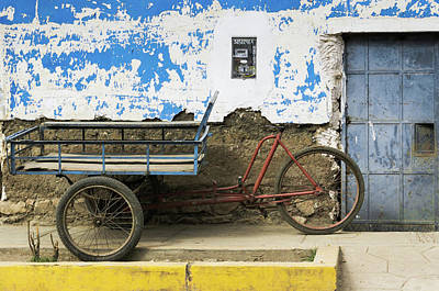 Andes Wall Art - Photograph - Transport Old School by DiFigiano Photography