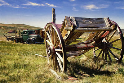 Photograph -  Transportation Of Bodie by Lana Trussell
