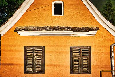 Photograph - Transylvania Village Architecture - Romania by Stuart Litoff