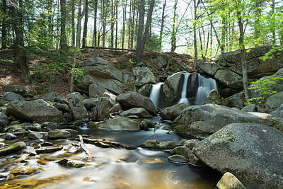 Photograph - Trap Falls In Spring 2 by Brian Hale
