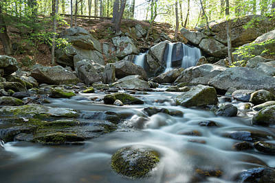 Photograph - Trap Falls In Spring 4 by Brian Hale