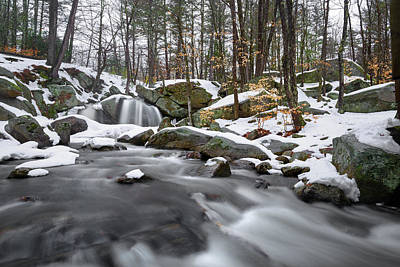 Photograph - Trap Falls Winter 2 by Brian Hale