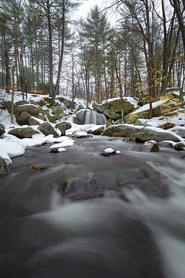 Photograph - Trap Falls Winter 3 by Brian Hale