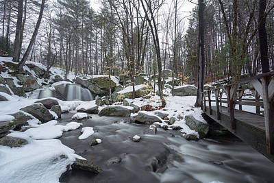 Photograph - Trap Falls Winter 4 by Brian Hale