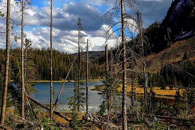 Photograph - Trap Lake, Roosevelt National Forest, Colorado by Marilyn Burton