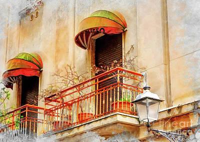 Sicily Painting - Trapani Art 14 by Justyna JBJart