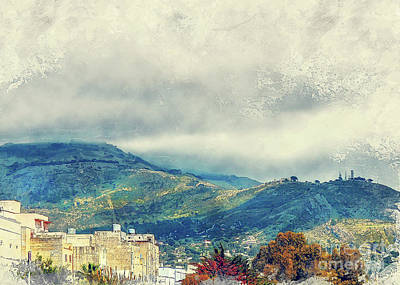 Sicily Painting - Trapani Art 15 by Justyna JBJart