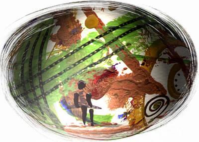 Digital Art - Trapped by Angela L Walker