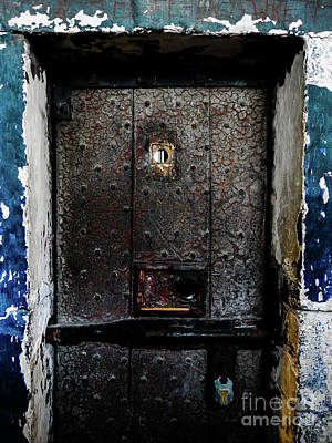 Photograph - Trapped Behind The Door by Lexa Harpell