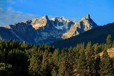 Photograph - Majestic Trapper Peak by Laurie Pelham