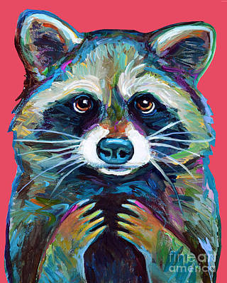Painting - Trash Panda by Robert Phelps