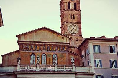 Photograph - Trastevere Basilica by JAMART Photography