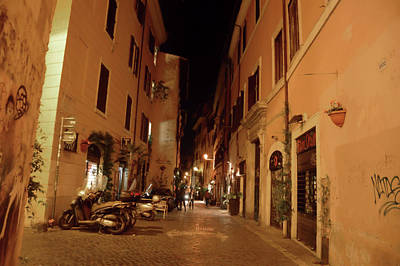 Photograph - Trastevere Character by JAMART Photography