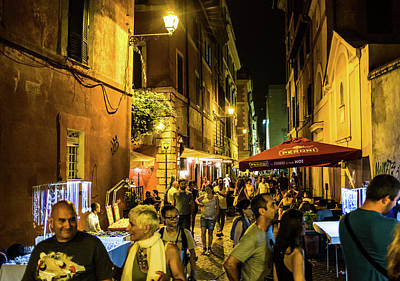 Photograph - Trastevere by Robert McKay Jones
