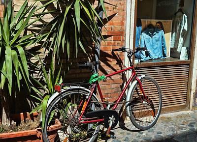 Photograph - Trastevere Transportation by JAMART Photography