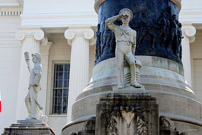 Photograph - Travel Confederate Monument 5 Alabama State Capitol by Lesa Fine