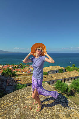 Photograph - Travel Holidays Lifestyle Greece by Benny Marty