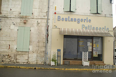 Boulangerie Photograph - Travel Photography  by Jenny Potter