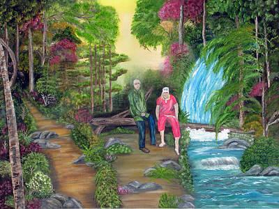 Travel Treasures Art Print by Mikki Alhart