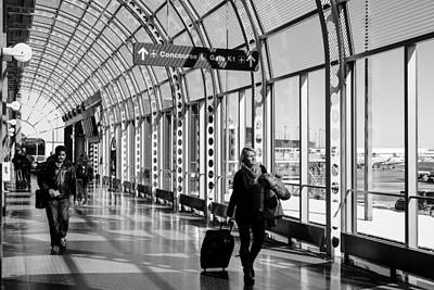 Photograph - Traveler B_w by John McArthur
