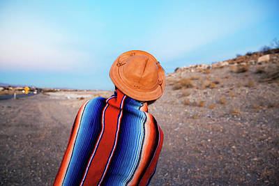 Desert Photograph - Traveler by Evgeniya Lystsova