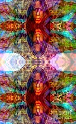 Mixed Media - I Traveler  by Fania Simon