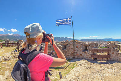 Photograph - Traveler Photographer In Patras by Benny Marty
