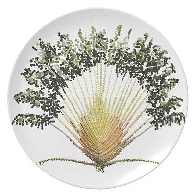 Digital Art - Travelers Palm Plate by R  Allen Swezey