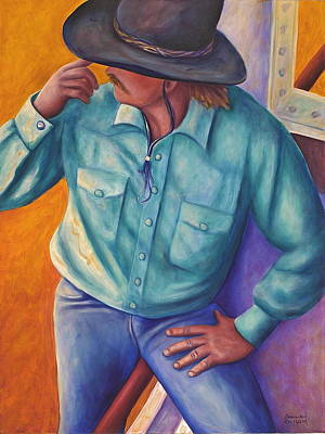Painting - Travelin Man by Shannon Grissom
