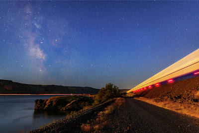 Photograph - Traveling At The Speed Of Light by Cat Connor