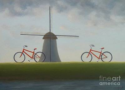 Painting - Traveling In Holland by Phyllis Andrews