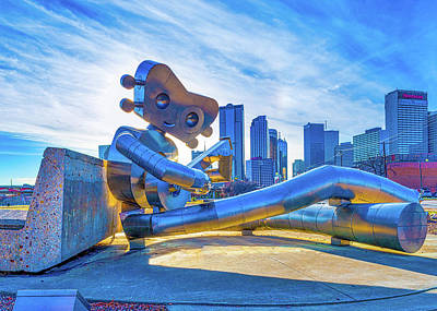 Dallas Photograph - Traveling Man Chilin by Tod and Cynthia Grubbs