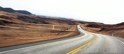 Edward Hopper - Traveling though the Ranchland of Alberta by David Pantuso