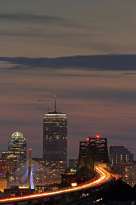 Photograph - Traveling To Boston by Juergen Roth
