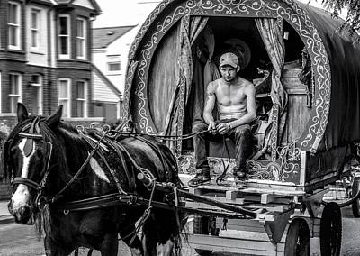 Photograph - Traveller 1 Bw by Wallaroo Images