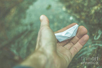 Origami Photograph - Travelling Dreams by Jorgo Photography - Wall Art Gallery