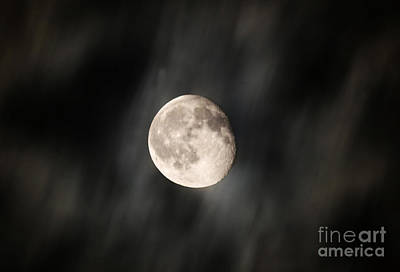 Photograph - Travelling With Moon by Manjot Singh Sachdeva
