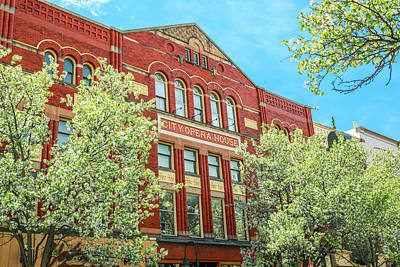 Photograph - Traverse City Opera House by Dan Sproul