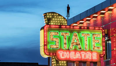 Photograph - Traverse City State Theatre by John McGraw