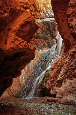 Photograph - Travertine Falls by Leda Robertson
