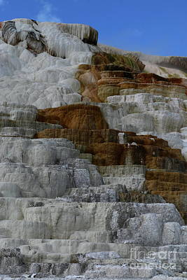 Photograph - Travertine  Terrace Colors by Christiane Schulze Art And Photography