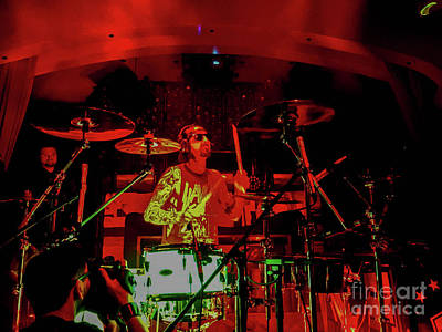 Photograph - Travis Barker Solo Show by Jason Sullivan