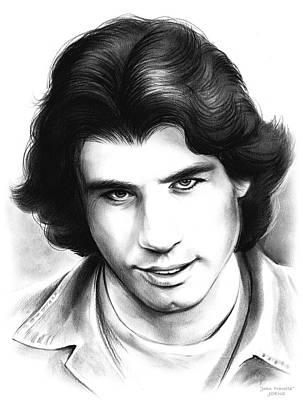 Travolta Art Print