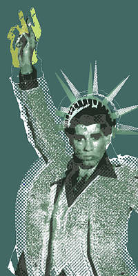 Painting - Travolta Liberty by Tony Rubino