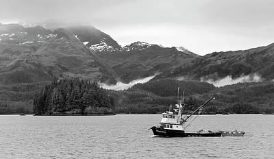 Photograph - Trawler Tenacious by Peter J Sucy