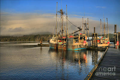 Photograph - Trawlers On A Mountain Coast by Adam Jewell