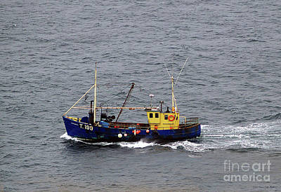 Photograph - Trawling Off The Dingle Peninsula In Ireland by Patricia Griffin Brett
